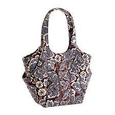 3aad8c2571 Vera Bradley Side by Side in Slate Blooms  handbag  purse Beautiful  Handbags