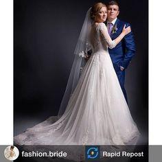 Наша невеста в платье LAVERNA #litebydominiss