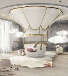 Fantasy Air Balloon in Interior Design