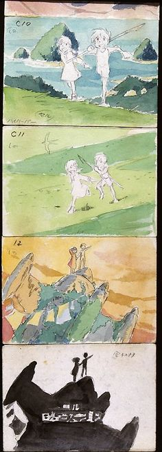 Strip from The Art of Anime.
