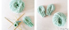 Quick and easy baby mittens! Great beginner pattern and great to give as a DIY gift. Materials: One skein of light weight yarn Set of US 2 (2.75mm) Double pointed…