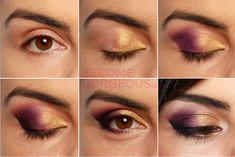 Brown Eyes Make Up - Find out what is the most trendy make up for brown eyes. We give you a step by step guide with pictures of applying your make up like professionals!