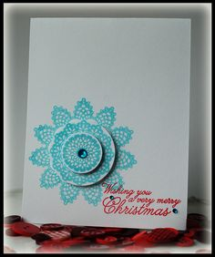 Christmas Card - Scrapbook.com. I wouldn't make it a Christmas card tho