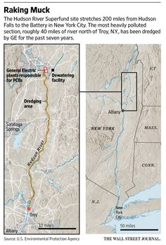 GE wraps up Hudson River dredging for PCBs; critics call for deeper cleanup http://on.wsj.com/1WUk0ih