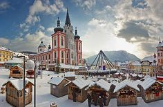 Vianočné trhy v rakúskom Mariazelli