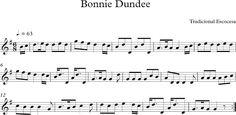 Bonnie Dundee. Canción Tradicional Escocesa.