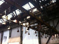 Inside Old Amsterdam shipyard - Marjan Mak