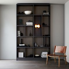 Shelving at Broomwood by Minale + Mann
