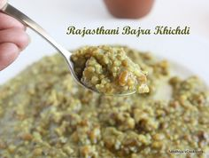 Rajasthani Bajra Khichdi, a healthy one pot meal made from the pearl millet and whole green moong dal. I had some pearl millet in my pantry. Indian Food Recipes, Whole Food Recipes, Cooking Recipes, Healthy One Pot Meals, Healthy Eating, Pearl Millet, Millet Recipes, Cooker, Oatmeal