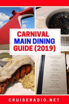 Carnival Door Hanger Continental Breakfast Menu in 2019 ...
