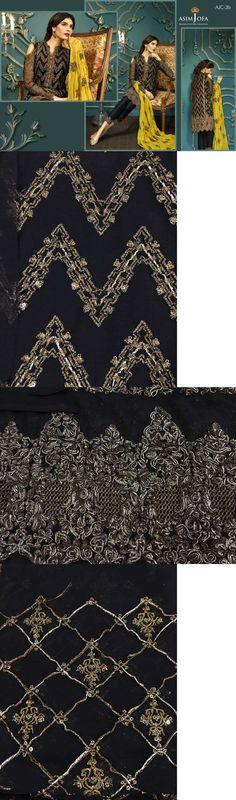 Salwar Kameez 155249: Asim Jofa Mysorie Collection 2017 Sana Safinaz Maria B Khaadi Zainab Chotani -> BUY IT NOW ONLY: $70 on eBay!