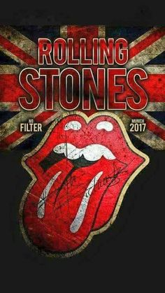 The Rolling Stones - No Filter - 2017 Pop Rock, Rock N Roll, Heavy Metal, Rock Band Posters, Rolling Stones Logo, Vintage Music Posters, Tour Posters, Music Wallpaper, Rock Legends