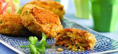 Μία ωραία συνταγή για μικροί και μεγάλοι!! Πεντανόστιμα μπιφτέκια ρυζιού και λαχανικών.