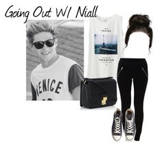 """Going Out With Niall"" by directioner90003 ❤ liked on Polyvore featuring Belleza, Uniqlo, VILA, Converse y 3.1 Phillip Lim"