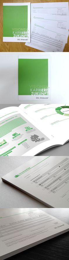 Printdesign, Formulardesign: DG timework #print #formular #design
