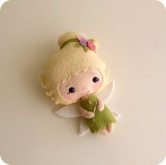 Ohhhh soooo cute!!!!  Fairy pdf Pattern Gingermelon on Etsy