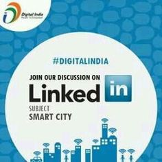"As urbanization intensifies and public sector technology initiatives advance quickly, the once-futuristicpromise of ""smart cities"" is coming to fruition. Join our LinkedIn Group Discussionhttps://goo.gl/ULBRrXYou can also follow our company page here forlatest updates & happenings:http://linkd.in/1eOiLm6‪#‎DigitalIndia‬‪#‎Groupdiscussion"
