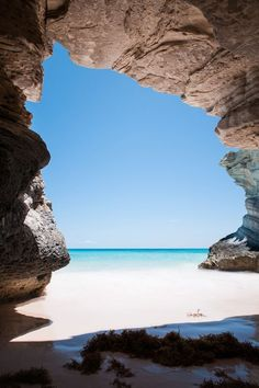 Cave at Lighthouse Beach, Bahamas I didn't take this photo but took many just like this. I loved our vacation to the Bahamas! Places Around The World, Oh The Places You'll Go, Places To Travel, Places To Visit, Vacation Destinations, Dream Vacations, Vacation Spots, Vacation Travel, Vacation Places