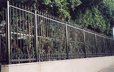 metal fence styles. Metal Fence Post Style. State Capitol, Columbia South Carolina | FENCE Styles And Options Pinterest E