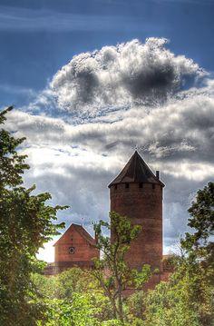 Turaida Castle in Latvia