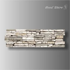 Faux stone living room background for sale Faux Stone Panels, Living Room Background, Green Building, Decoration, Firewood, Walls, Wall Decor, Products, Decor
