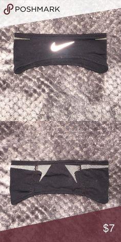 Nike Reflective Headband Great headband! Reflective Nike Accessories Hair Accessories