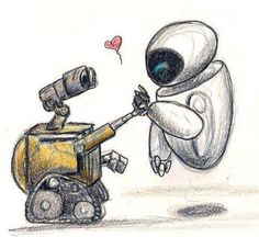 Wall E and Eve for MY Eeeevuh!