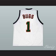 6421a761e186 Boriz Customs - Bugs Space Jam Tune Squad Movie Basketball Jersey