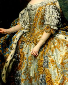 Medieval Clothing, Historical Clothing, Rococo Dress, Rococo Fashion, Dress Painting, Queen Aesthetic, Career Inspiration, My Art Studio, Victorian Women