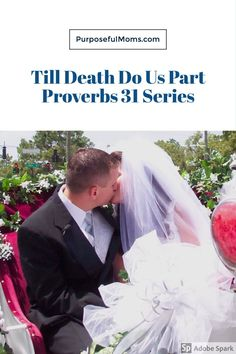 """You've heard them or said them yourself... """"I take thee to be my wedded husband/wife, to have and to hold... till death do us part, according to God's holy ordinance; and thereto I pledge thee my faith."""" When we say them, we truly mean each and every word. And then life hits."""