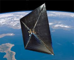 NASA's first attempt at using a solar sail; Nanosail-D is a nanosatellite, launched Friday, Nov. 19, 2010 at 8:25 p.m. EST from Kodiak Island, Alaska with a Minotaur IV rocket, piggybacking on Fast, Affordable, Science and Technology Satellite (FASTSAT) and ejected from it January 20, 2011.  (Initial attempt at ejection failed, but it ejected on its own finally.)