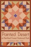 Painted Desert National Park Quilt Block