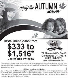 Installment Loans in Sisters, OR
