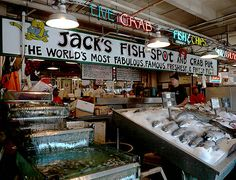 Jack's Fish Spot - Pike's Place - Seattle