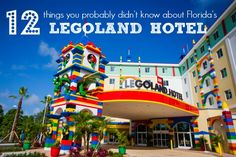 We visited the new Legoland Florida Hotel only days before its Grand Opening, and it was EVEN BETTER THAN WE IMAGINED! I am anxious to return again and again! It might become an annual escape for our family.  While I was there I learned a great deal about the hotel and its design. Here are 12 tidbits I picked up that I thought you should know about Legoland Florida's Hotel.