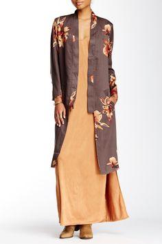 Printed Slim Kimono by Free People on @nordstrom_rack