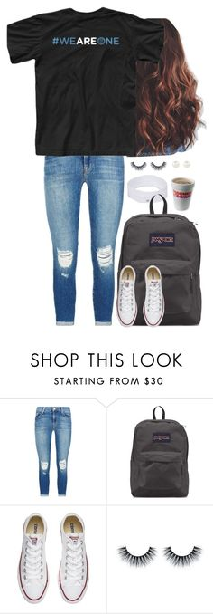 """""""Untitled #1329"""" by aweaver-2 on Polyvore featuring J Brand, JanSport, Converse and Accessorize"""