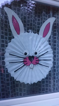 Imagen relacionada Bunny Crafts, Easter Crafts, Holiday Crafts, Easter Art, Easter Bunny, Toddler Crafts, Preschool Crafts, Daisy Painting, Easter Projects