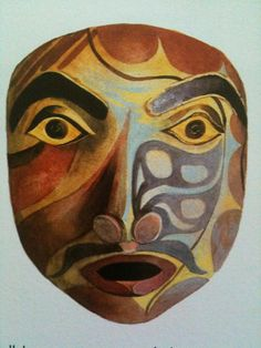 Native American Mask - Pacific NW