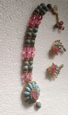 Hobe Necklace And Earring Set #Hobe
