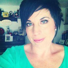 Loving short hair.