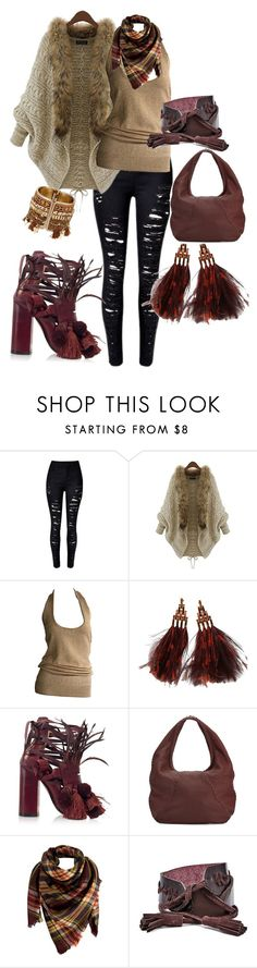 """""""Untitled #2"""" by barboraphoto on Polyvore featuring Donna Karan, Louis Vuitton, N°21, Bottega Veneta, Peach Couture and FOSSIL"""