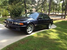 2000 BMW 740i Sport Highline in Orient Blue