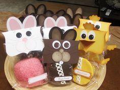 Stampin' Up!  Easter Cupcake Treats  DeDe Hames