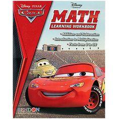 Disney Pixar Cars Math Learning Workbook