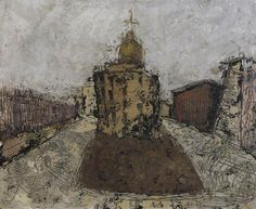 Naples, Church - William Congdon - Abstract Expressionism, 1950