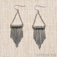 Corwin Metal Fringe Earrings