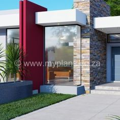 5 Bedroom House Plan – My Building Plans South Africa 5 Bedroom House Plans, My House Plans, My Building, Building Plans, Architect Fees, House Roof Design, Tuscan House, Bedroom With Ensuite, Open Plan