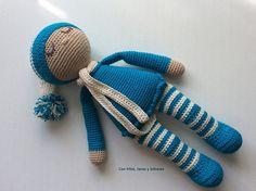 Con hilos, lanas y botones: Bebé dormilón amigurumi Amigurumi Doll, Lana, Creations, Dolls, Alice, Baby Dolls, Recipe, Stuff Stuff, Doll Patterns