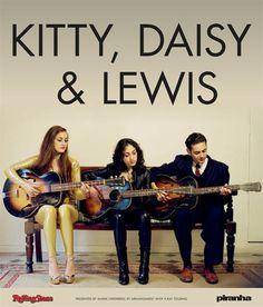 Kitty, Daisy & Lewis Tour 2015 | Termine ab Dienstag im Vorverkauf